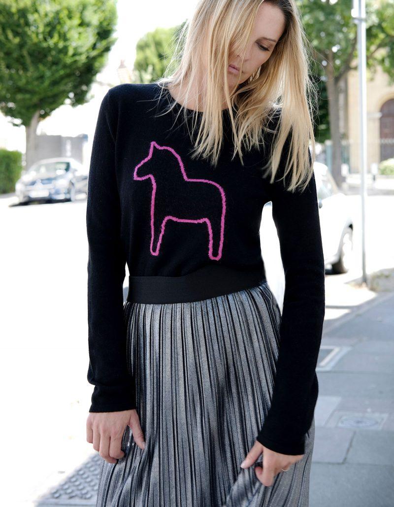 Pony Cashmere Jumper by Malin Darlin